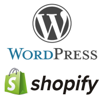Wordpress and Shopify Web Sites